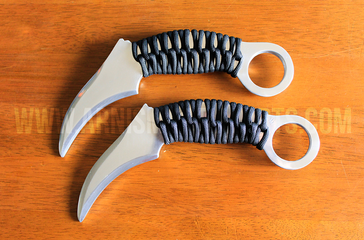 TW024SG – Olea Kerambit with Paracord String Handle