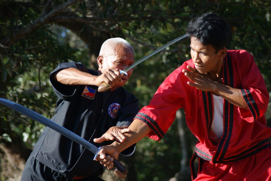 Grandmaster Rodel Dagooc and Getchin in Action